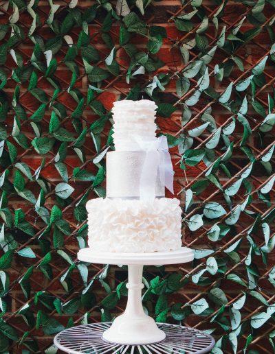 ruffle wedding cakes sussex