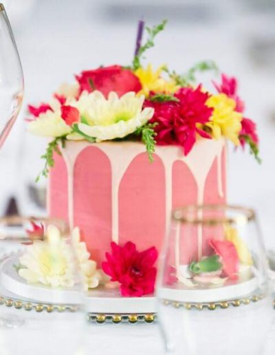 flower wedding cakes