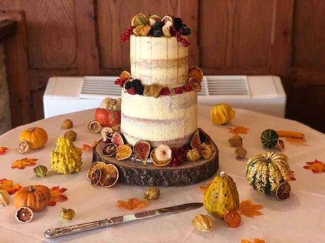 naked cake wedding cakes