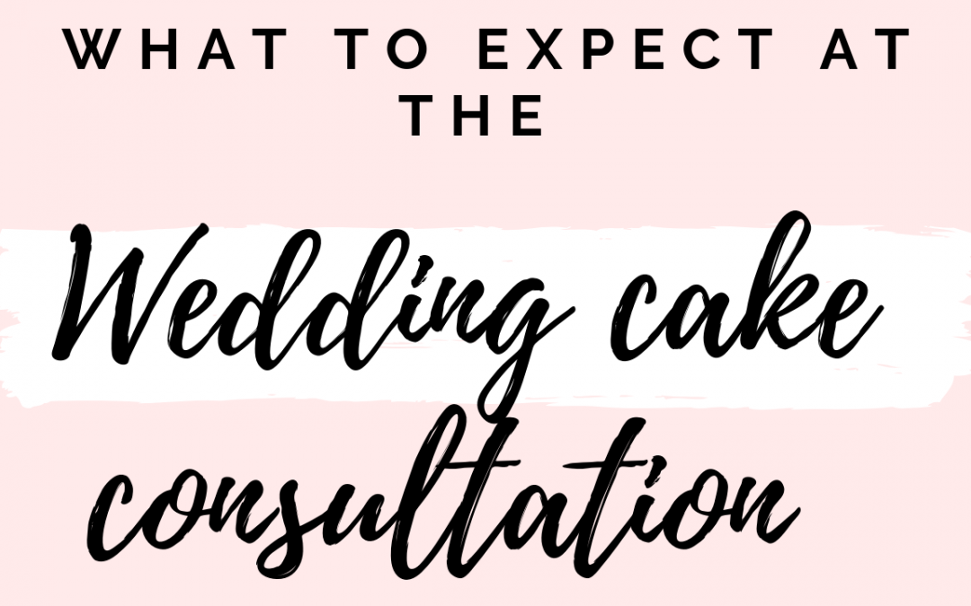 Wedding cake consultations