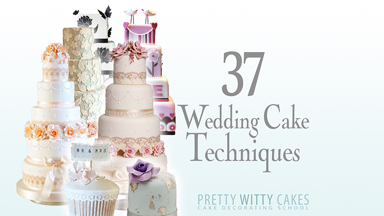 40WeddingCakeTechniques New