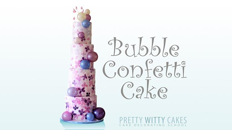 BubblesConfettiCake 750