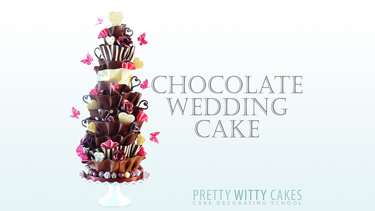 ChocolateWeddingCake New