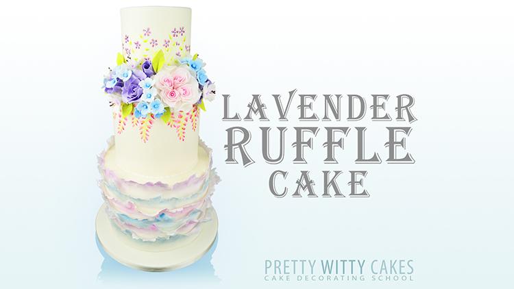 LavenderRuffleCake New
