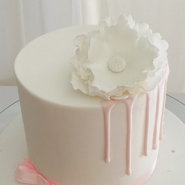 sharp edge cake class flower