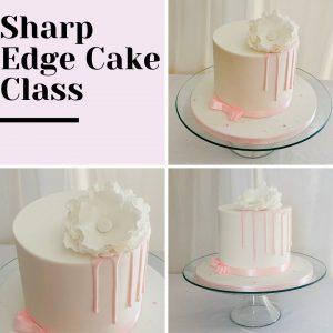 Sharp edge cake class